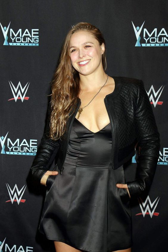 Ronda Rousey on Ymae