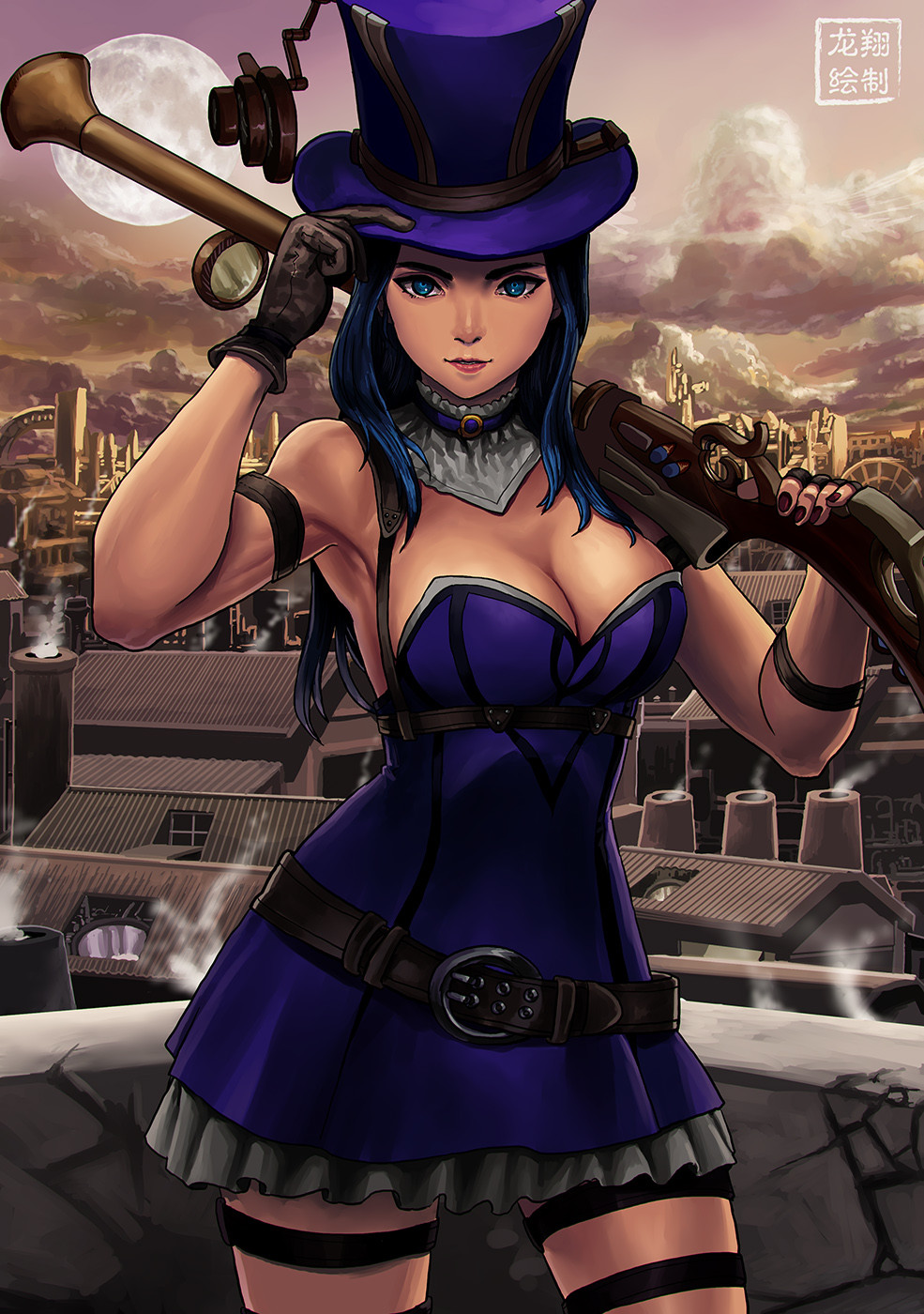 Sheriff Caitlyn Hot Fan Arts