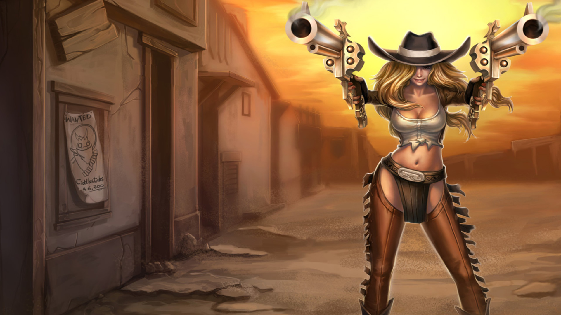 Sheriff Caitlyn Hot Look