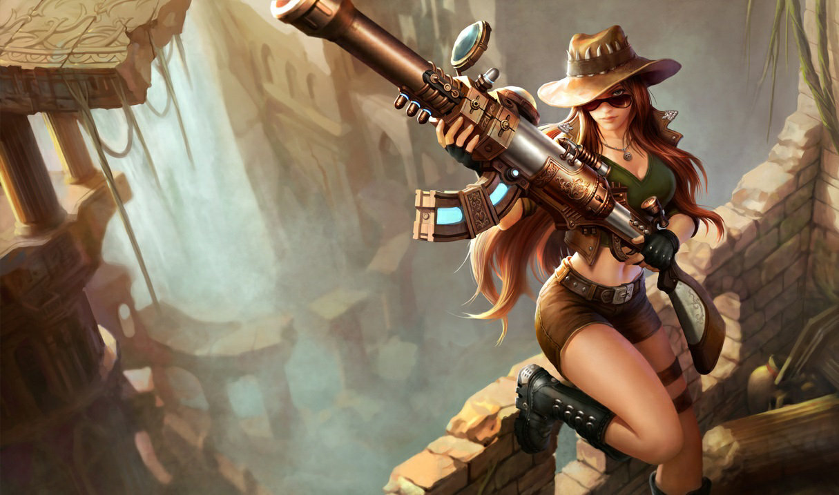 Sheriff Caitlyn Photoshoot
