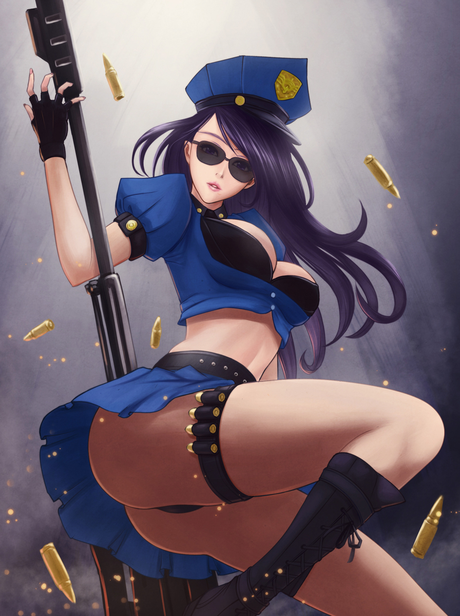 Sheriff Caitlyn Sexy Big Butt