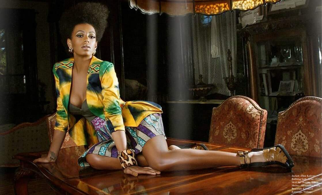 Solange Knowles hot legs