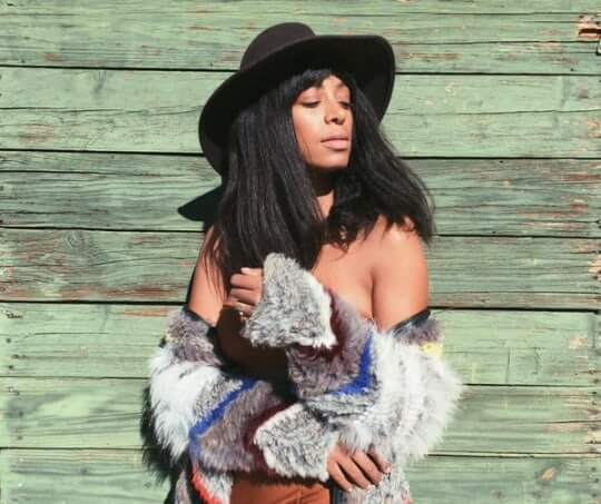 Solange Knowles hot nude pic