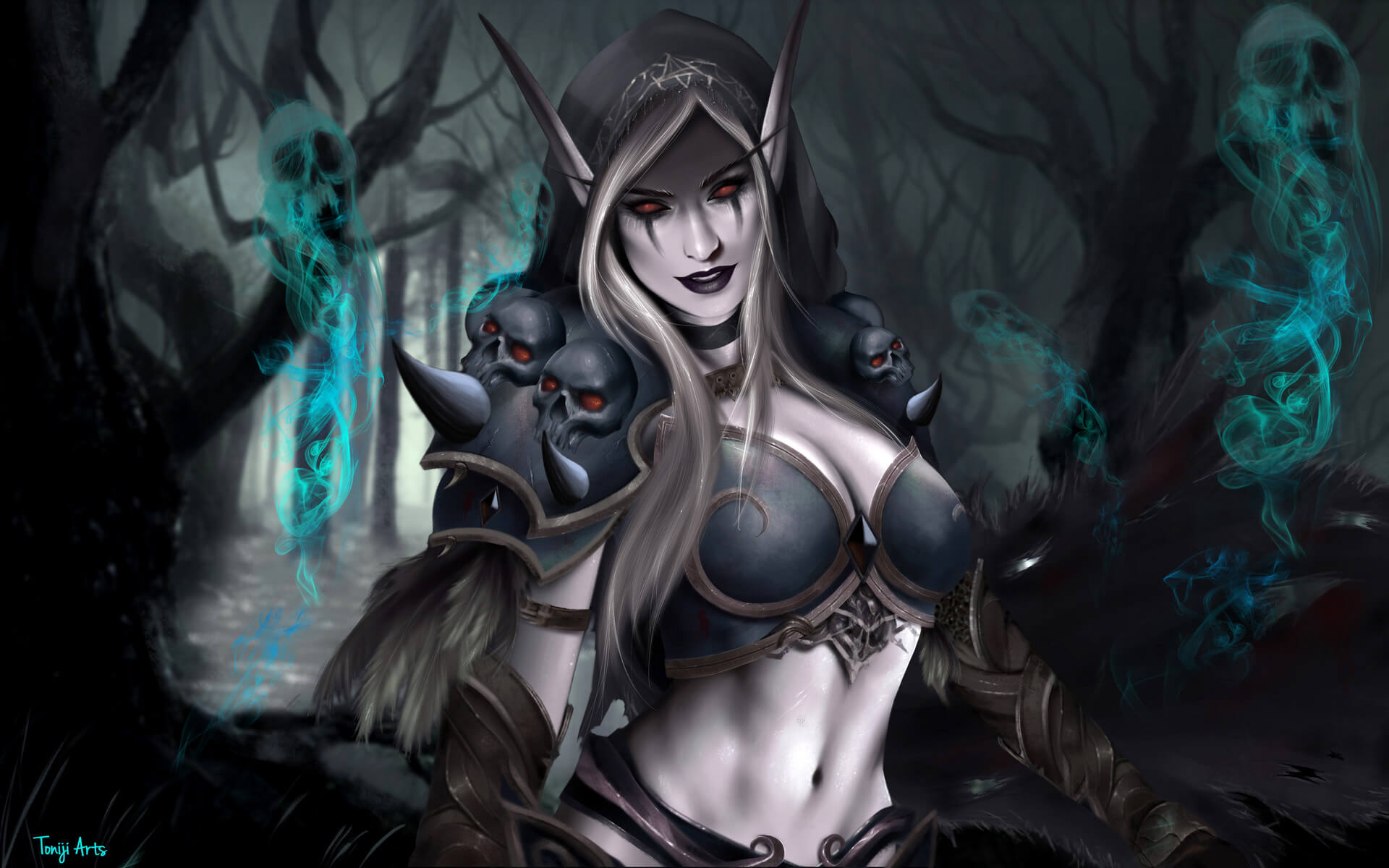 Sylvanas awesome cleavages