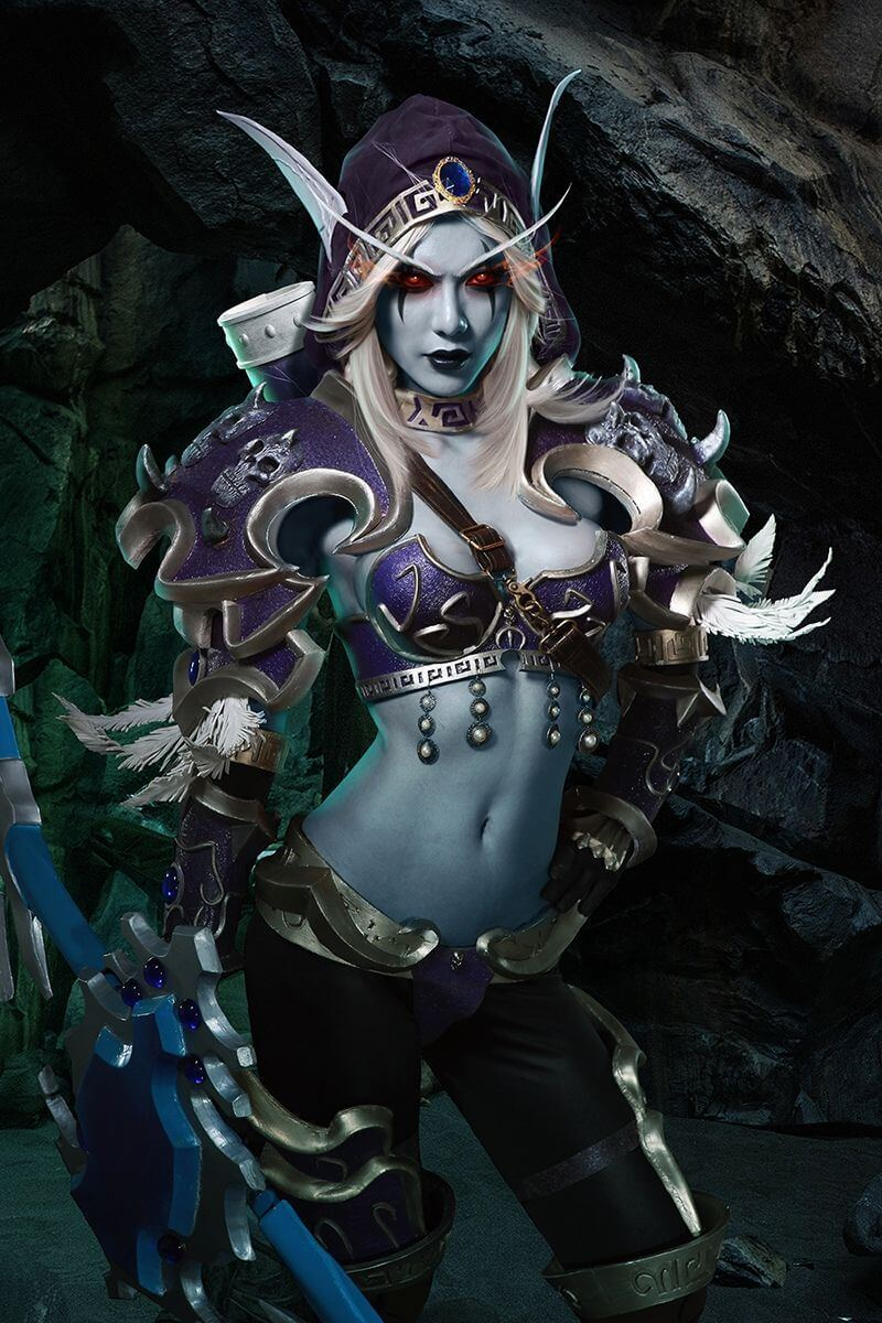 Sylvanas awesome dress