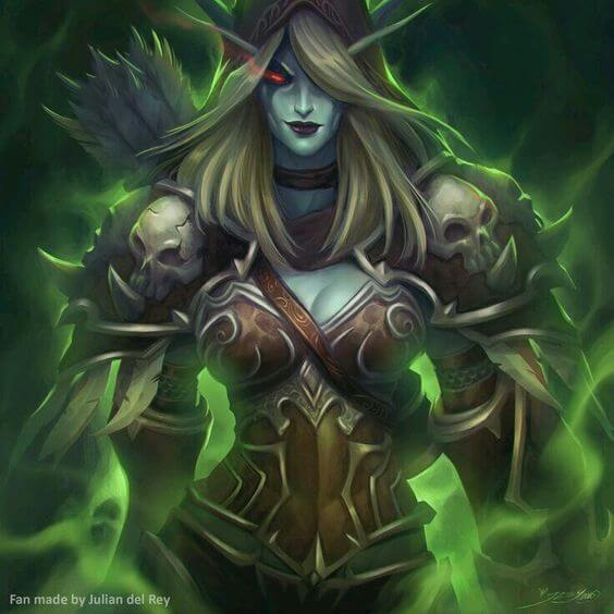 Sylvanas awesome pic (2)