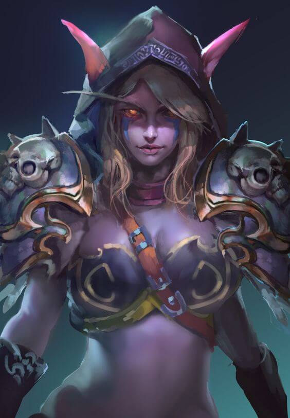 Sylvanas awesome pic