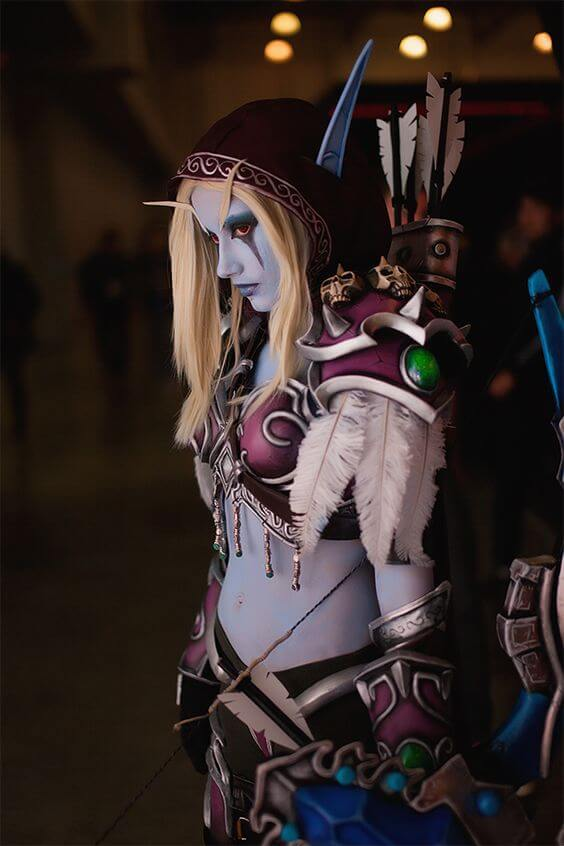 Sylvanas beautiful (2)