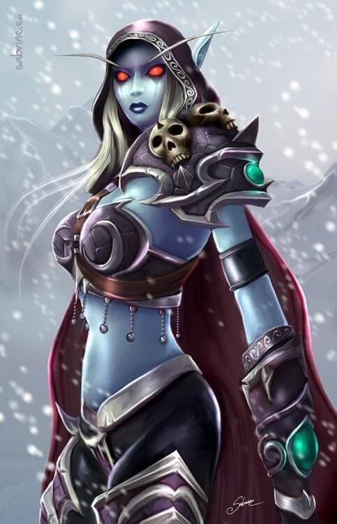 Sylvanas beautiful picture