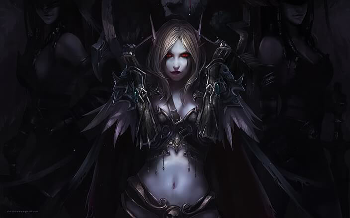 Sylvanas cleaavegs beautiful