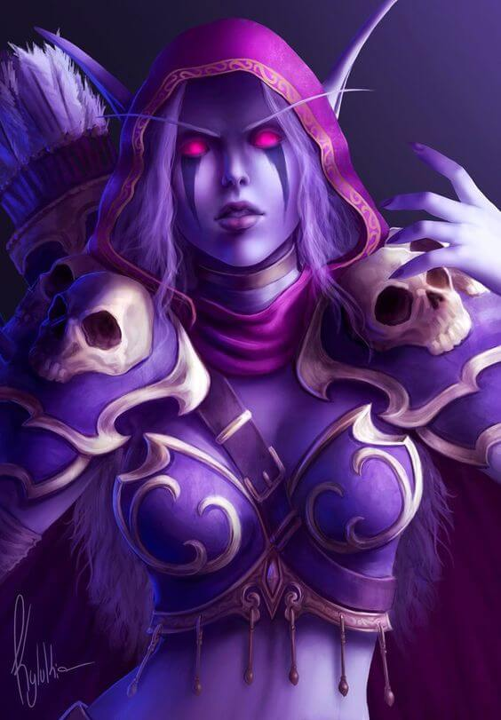 Sylvanas hot pictures (2)