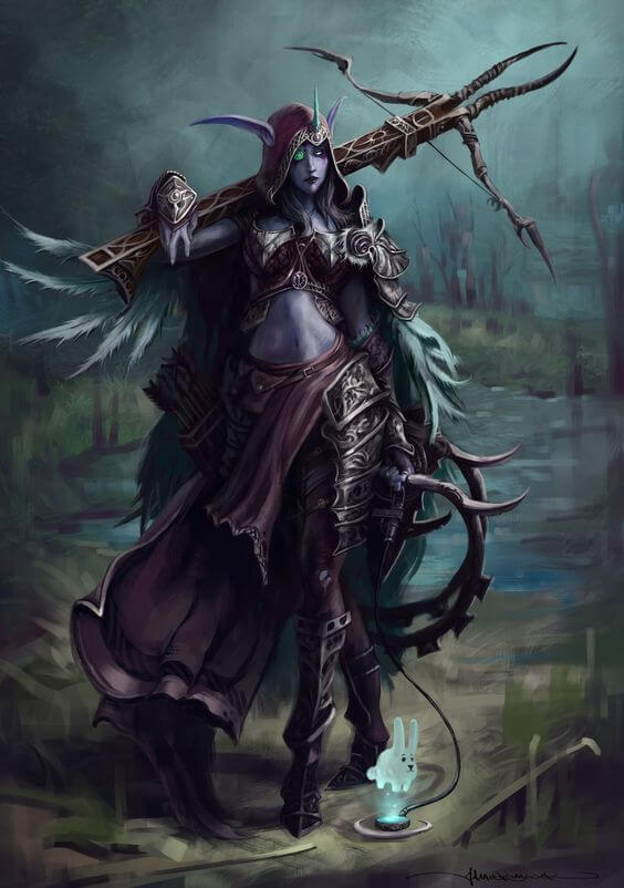 Sylvanas hot pictures (3)