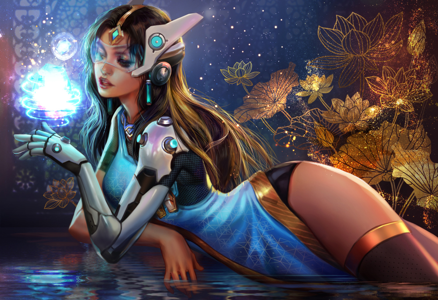 Symmetra Overwatch Fan Arts