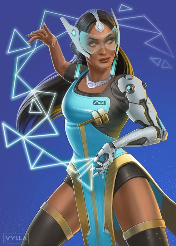 Symmetra Overwatch Fan Arts Pics