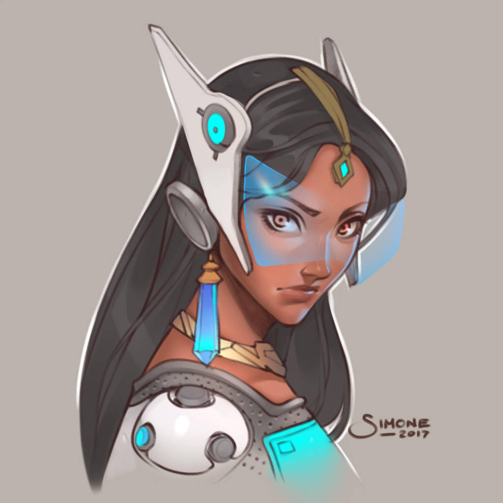 Symmetra Overwatch Hot