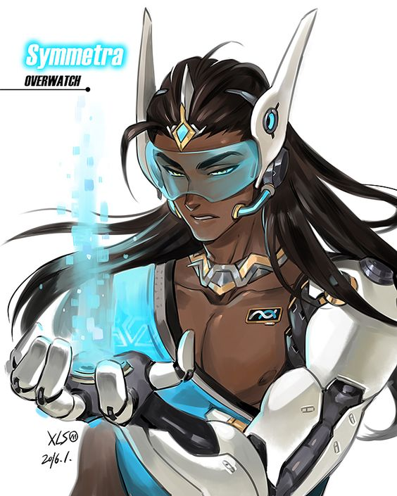 Symmetra Overwatch Hot Fan Arts