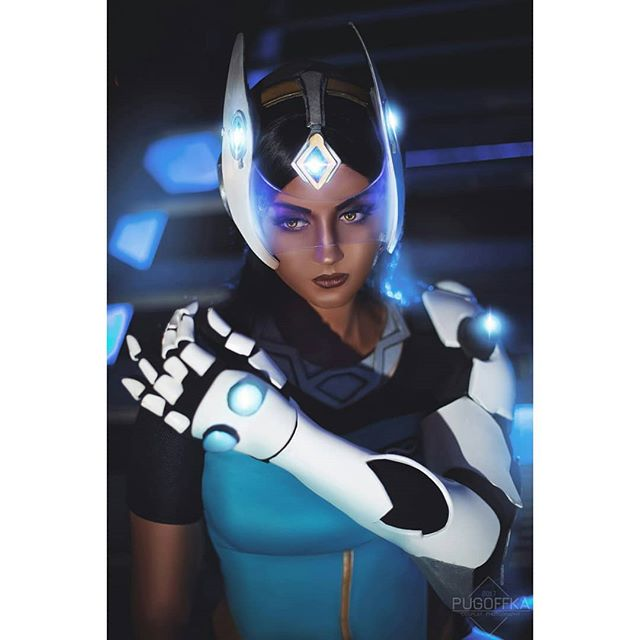 Symmetra Overwatch Hot Look