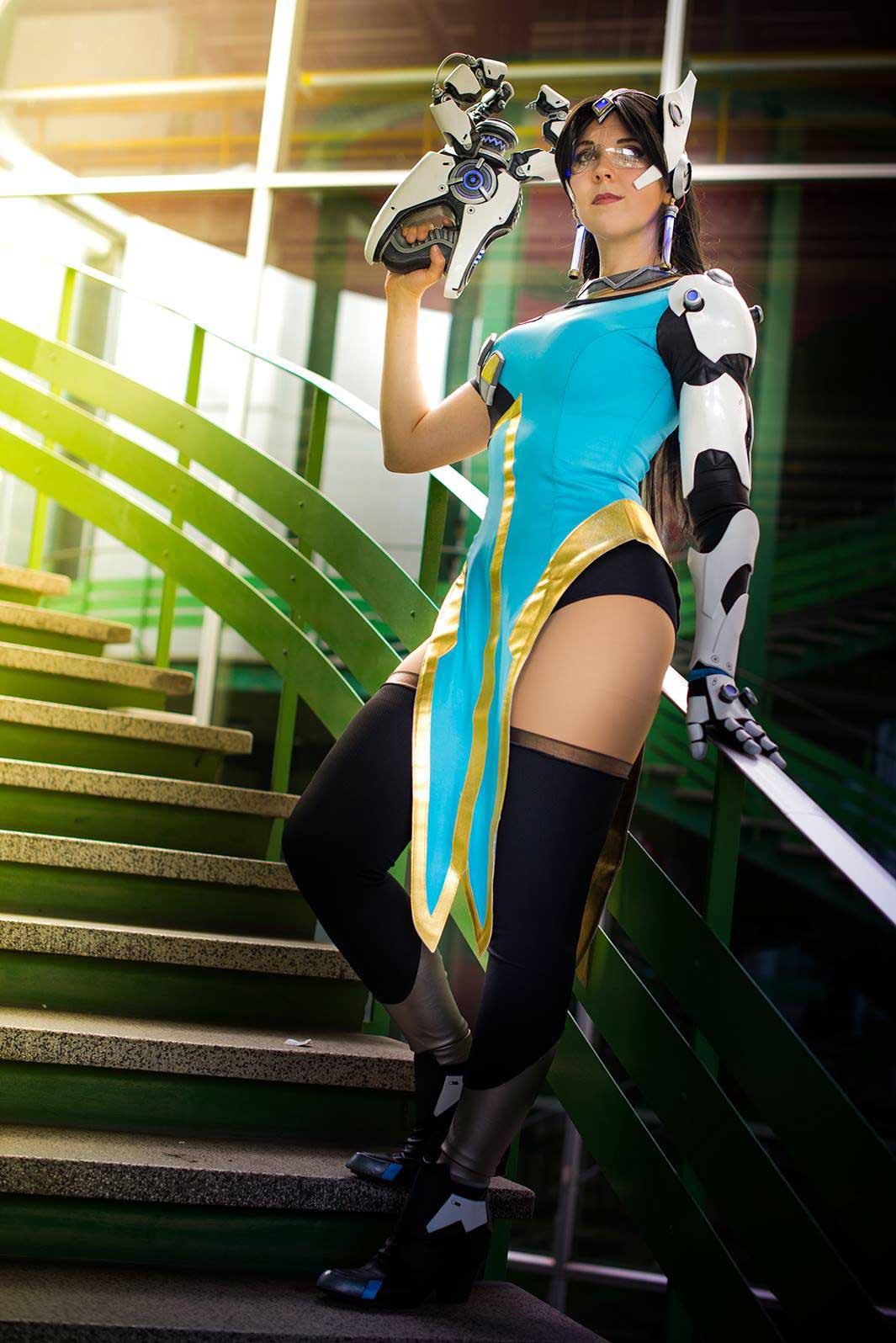 Symmetra Overwatch Hot Photoshoot
