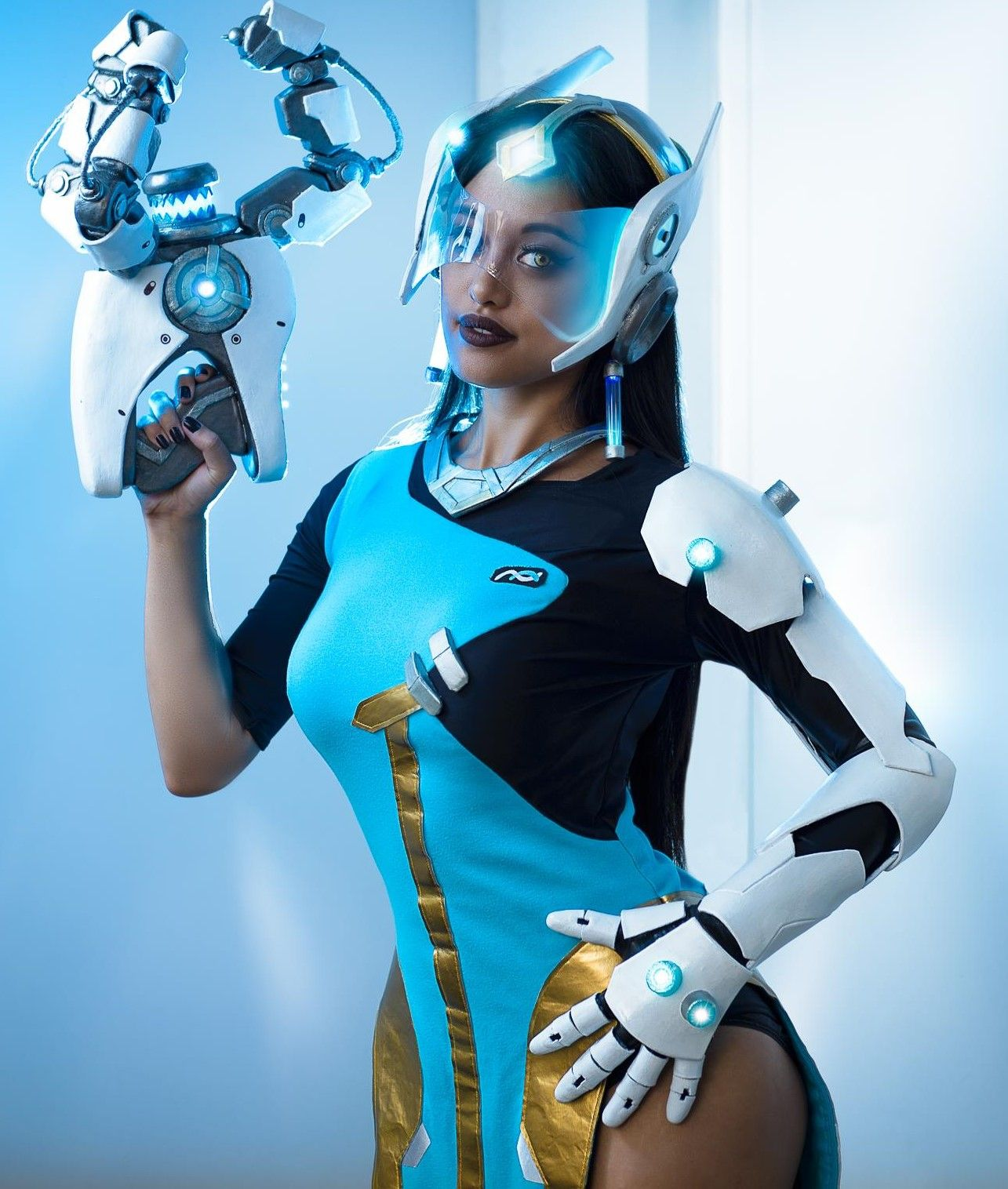 Symmetra Overwatch Photoshoot Pics