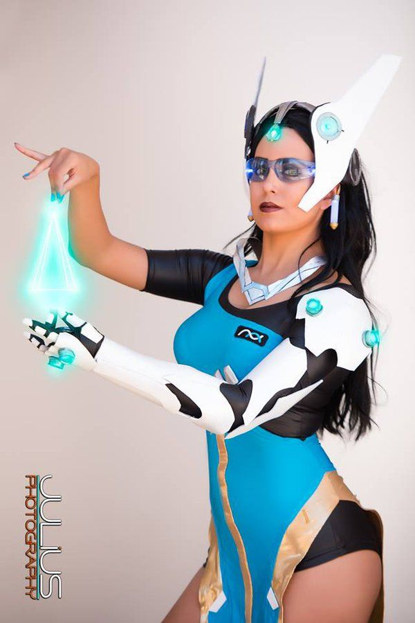 Symmetra Overwatch Photoshoot