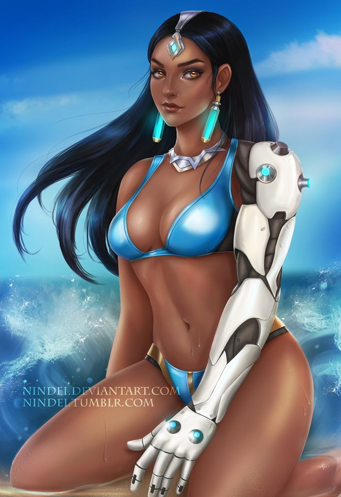 Symmetra Overwatch Sexy Boobs