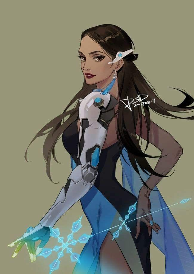 Symmetra Overwatch Sexy Fan Arts