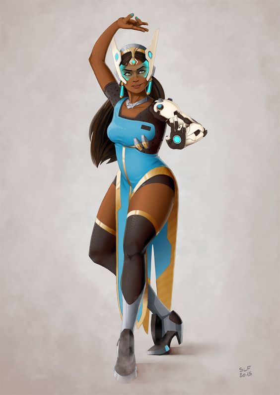 Symmetra Overwatch on Photoshoot