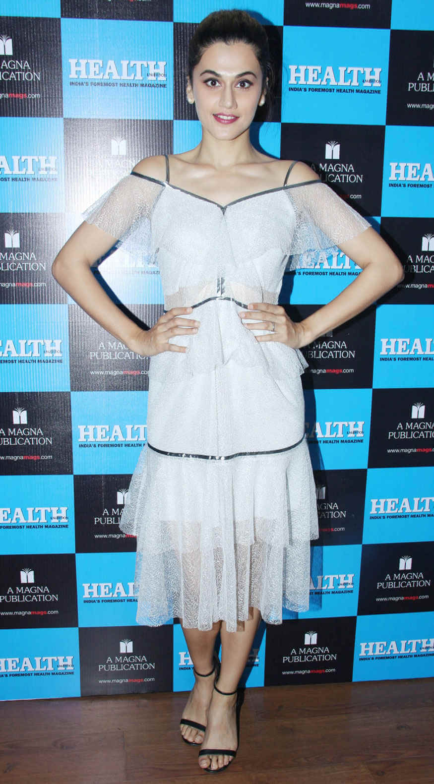 Taapsee Pannu sexy white dress pic