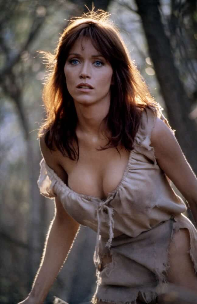 Tanya Roberts awesome cleavages