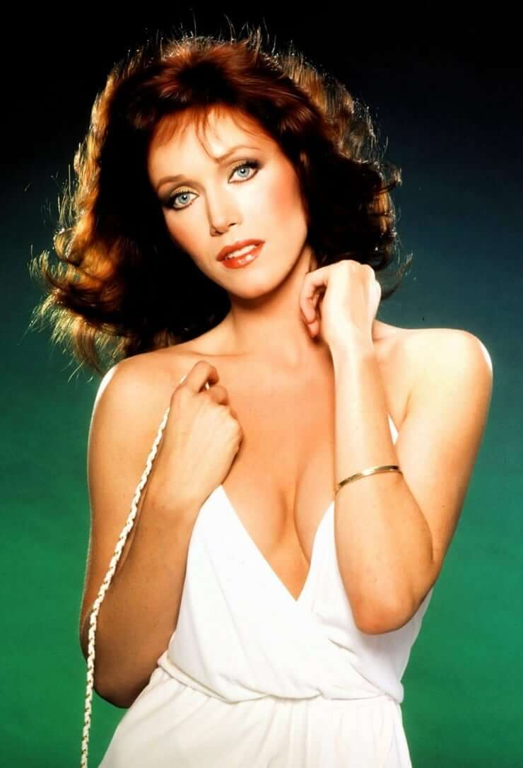 Tanya Roberts cleavages awesome
