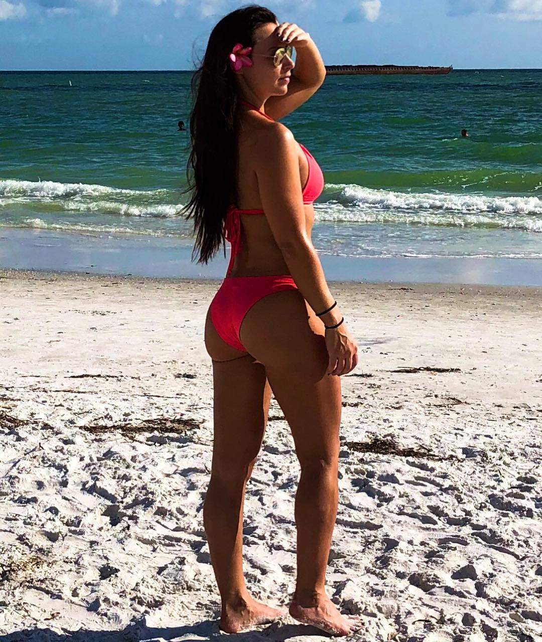 Tenille Dashwood on Beach