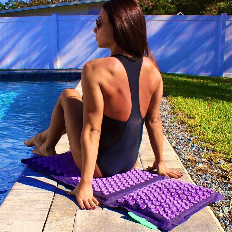 Tenille Dashwood on Swimming Pool