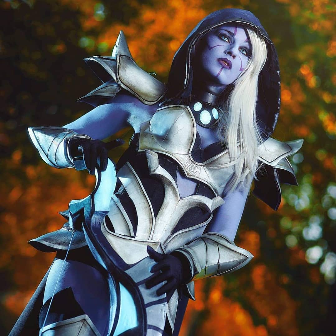 Traxex the Drow Ranger awesome look