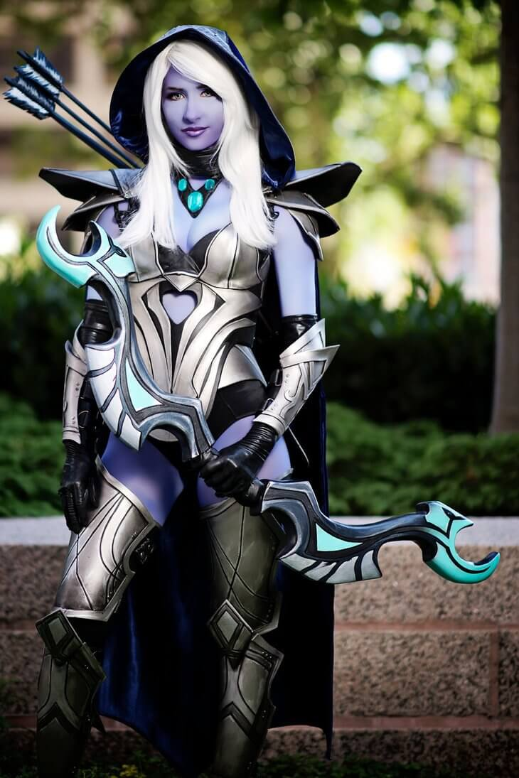 Traxex the Drow Ranger sexy hairs pic
