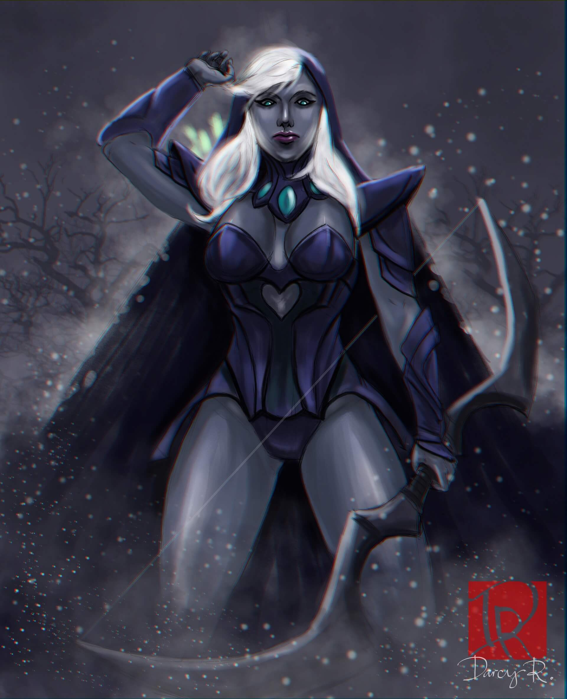 Traxex the Drow Ranger thighs pic