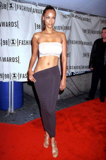 Tyra Banks Red carpet