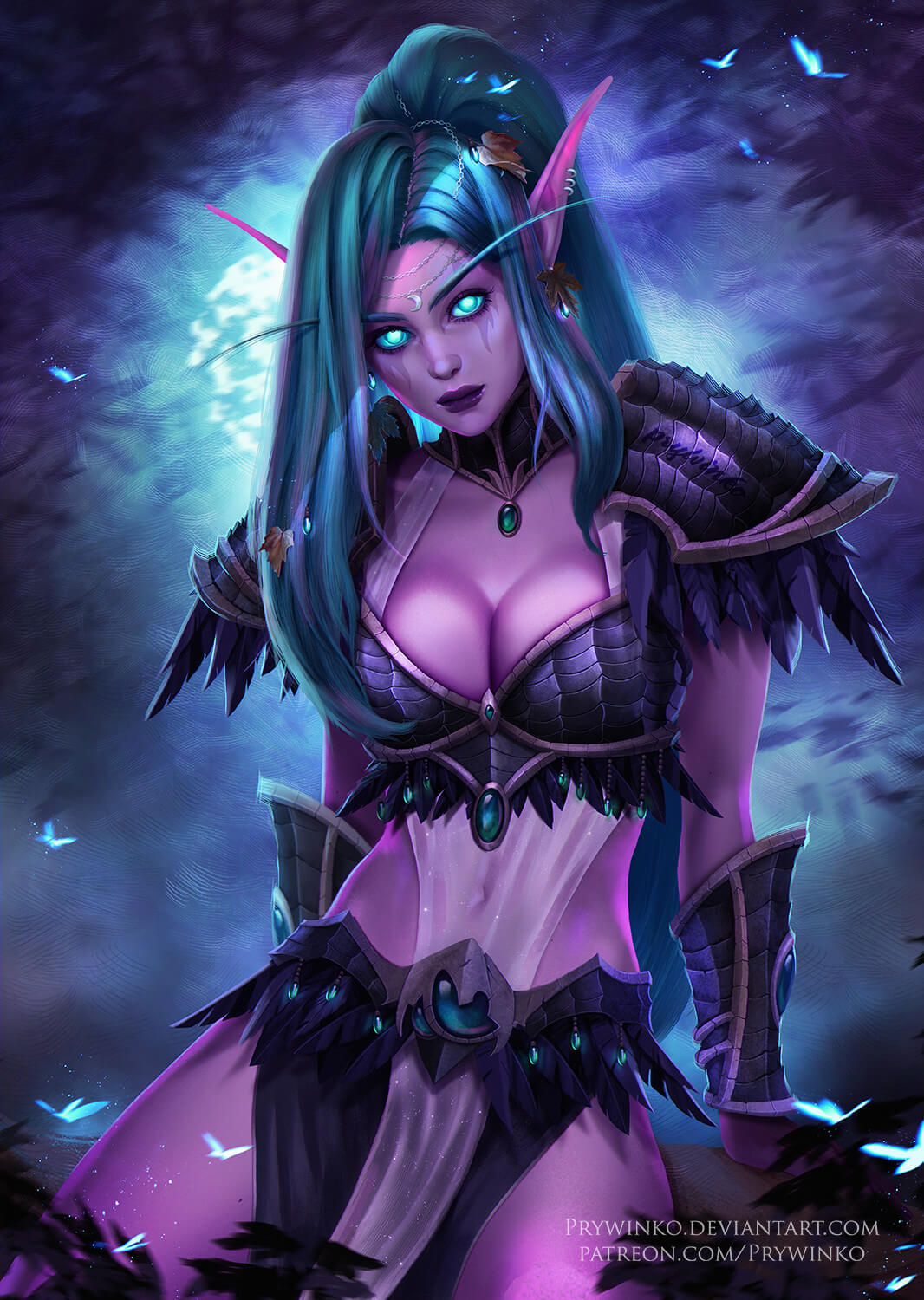 Tyrande awesome cleavages pics (2)