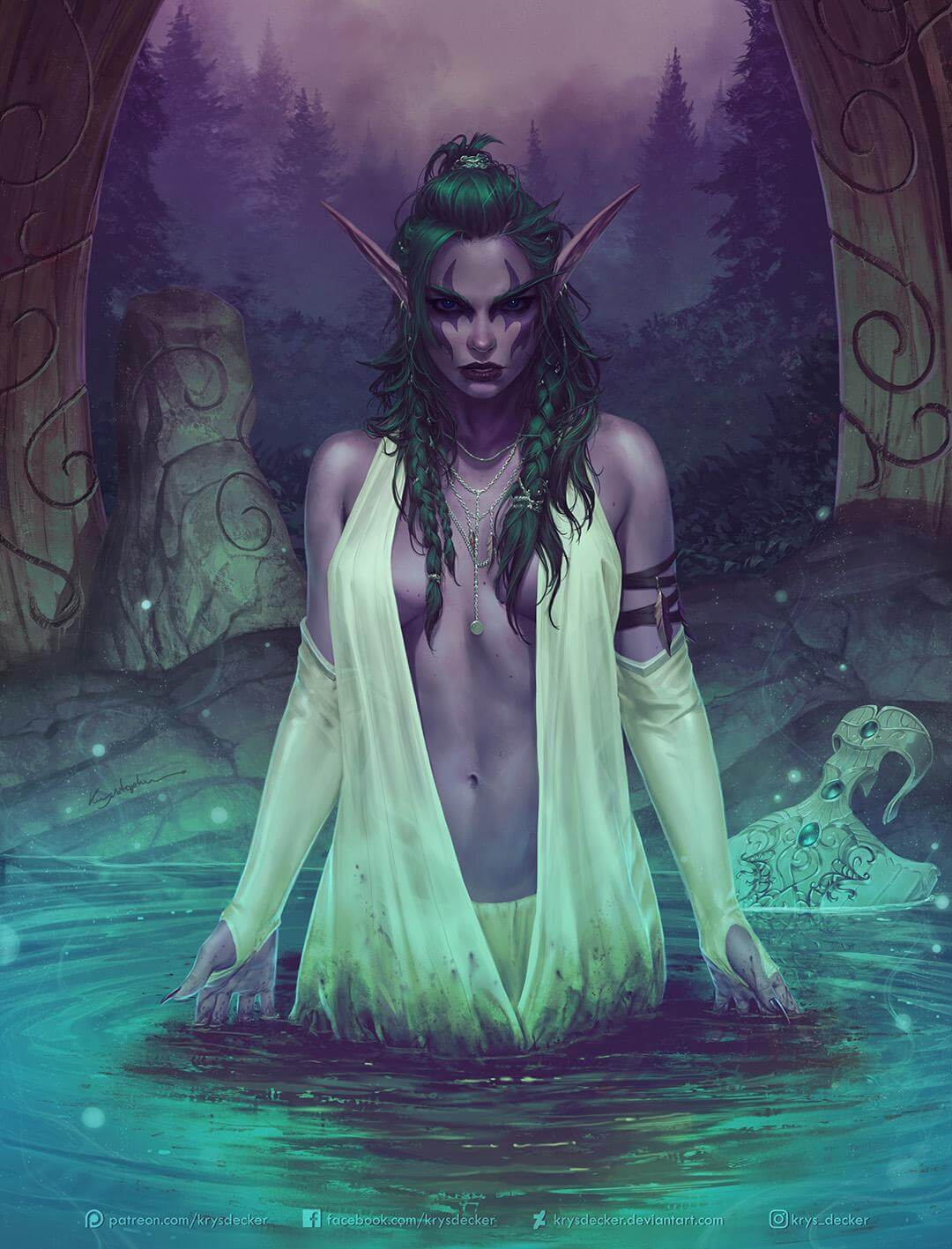 Tyrande cleavages awesome pics