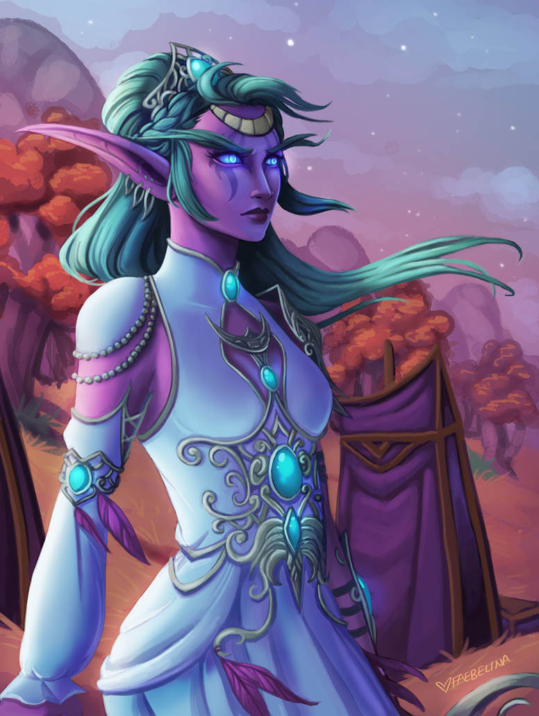 Tyrande cleavages pic