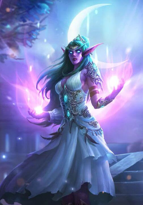 Tyrande sexy cleavages