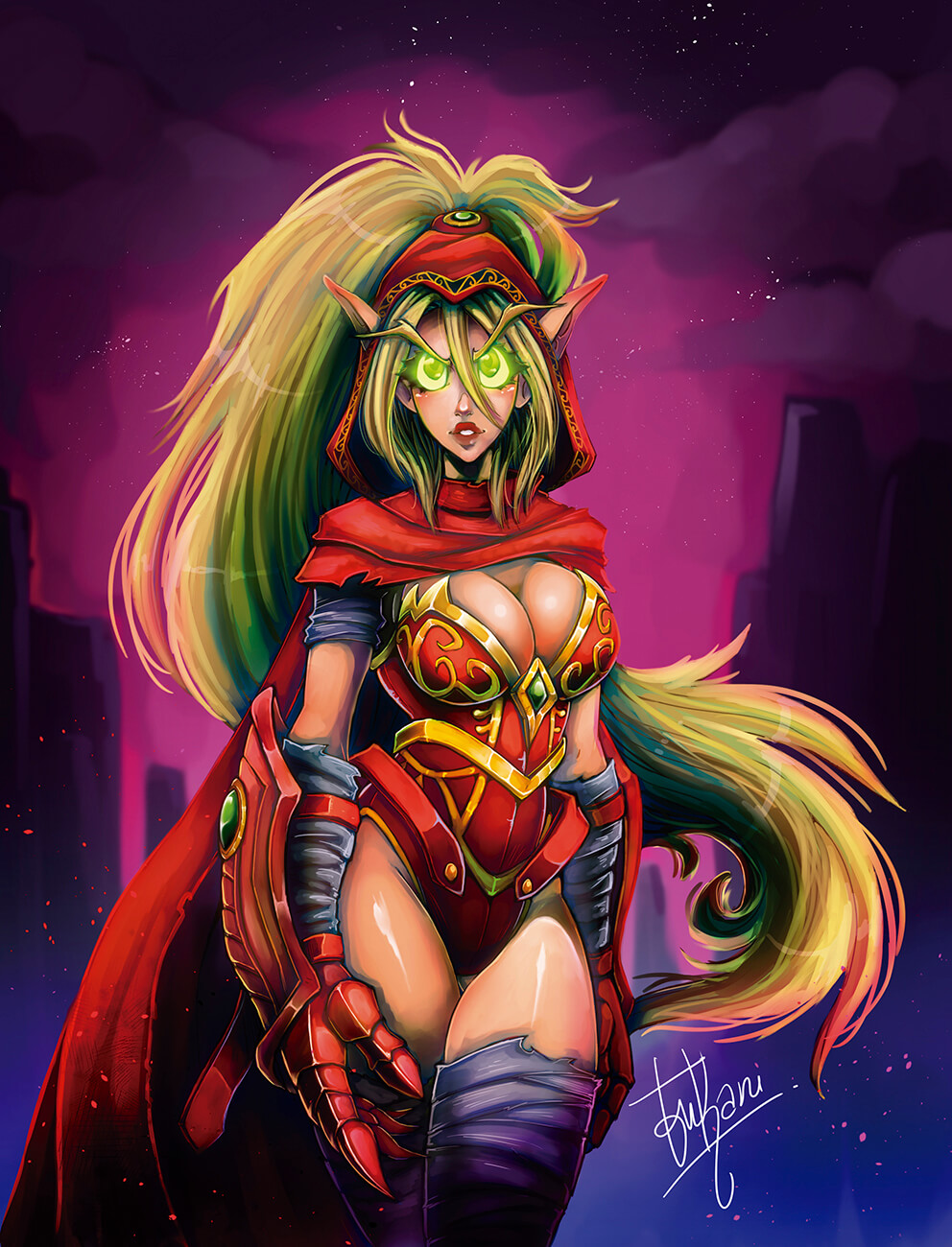 Valeera cleavages