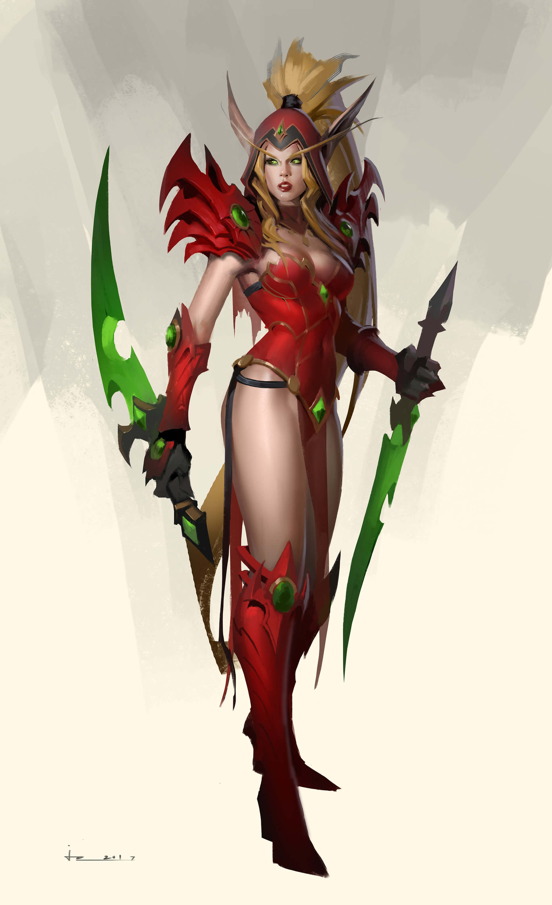 Valeera hot dress