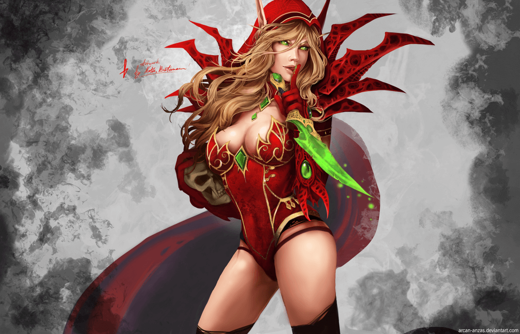 Valeera thighs awesome