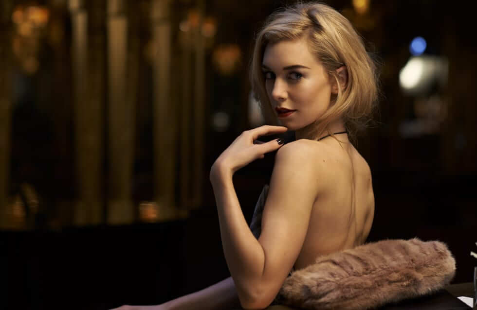 Vanessa Kirby hot lingerie pic