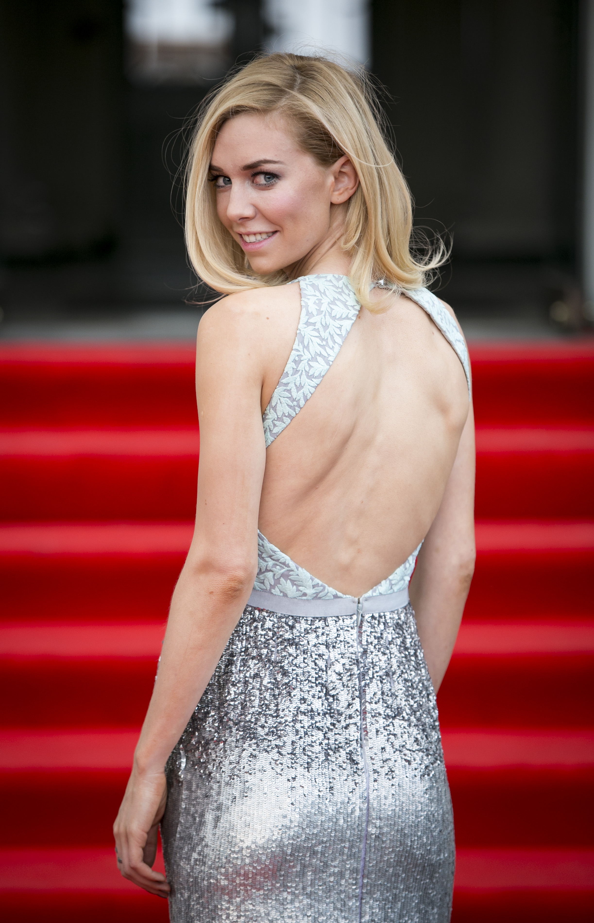 Vanessa Kirby sexy cleavages