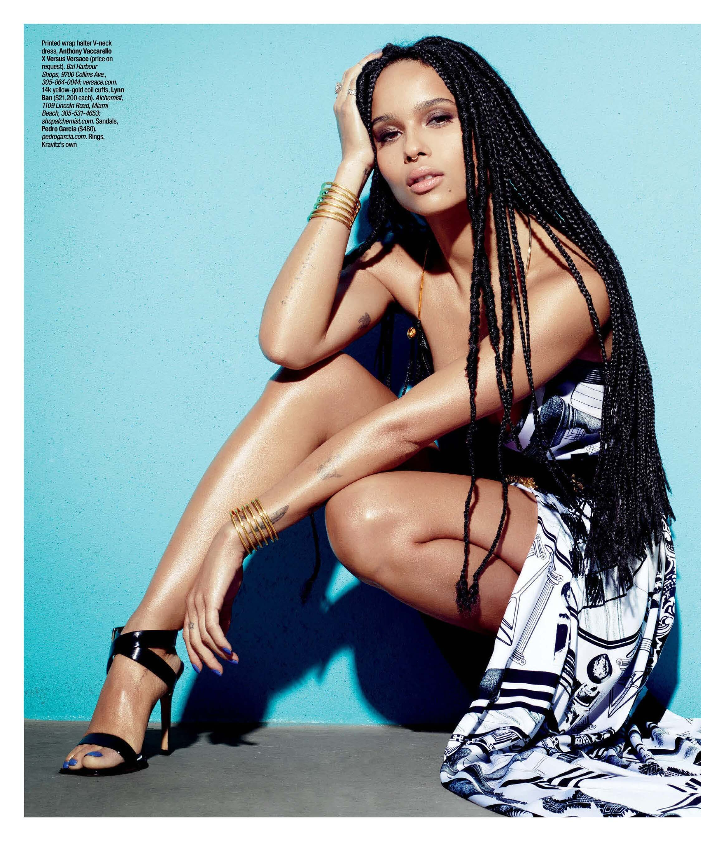 Zoë Kravitz sexy ass pictures