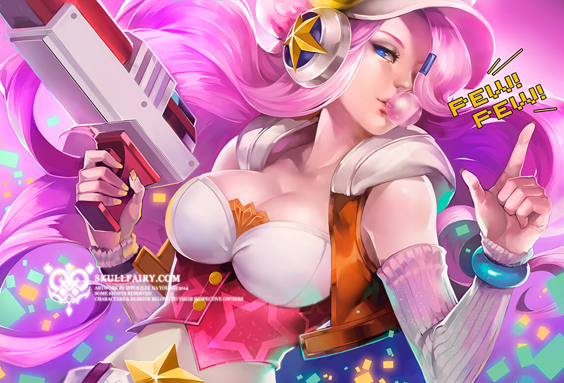 arcade miss fortune boobs pics
