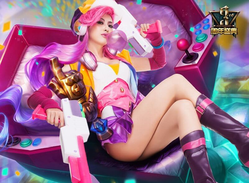arcade miss fortune thighs