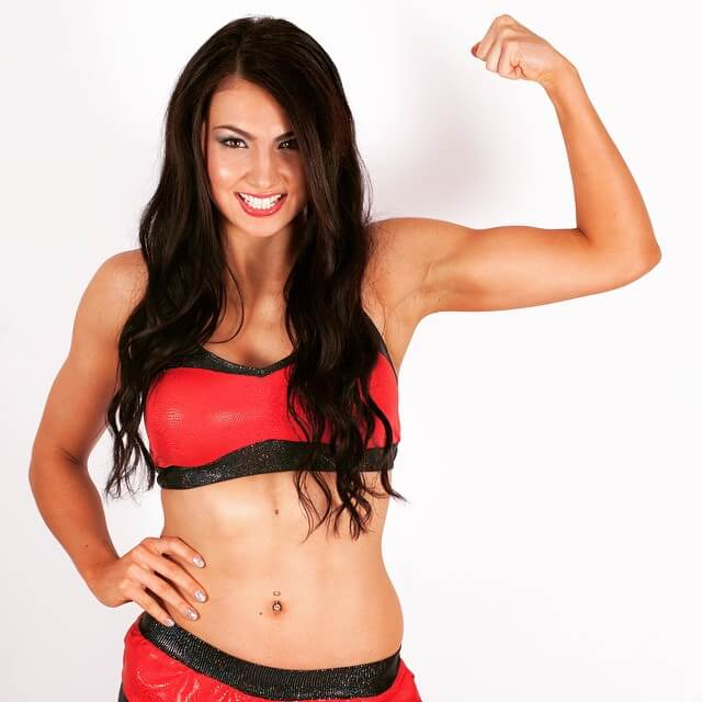 billie kay body building