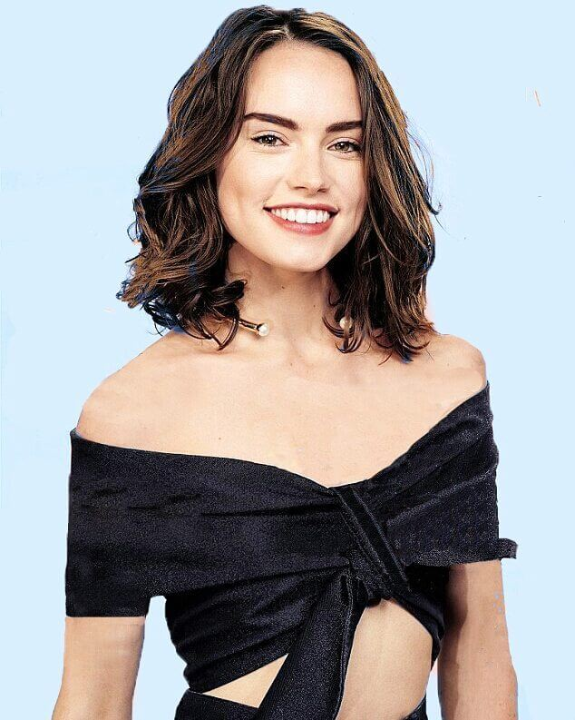 daisy ridley sexy smile